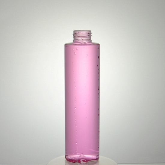 200ml empty cylinder Round PET bottle